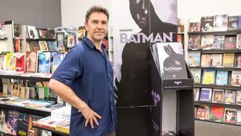 Hat dem dunklen Prinzen Flügel verliehen: der erfolgreiche Baselbieter Comiczeichner Enrico Marini.