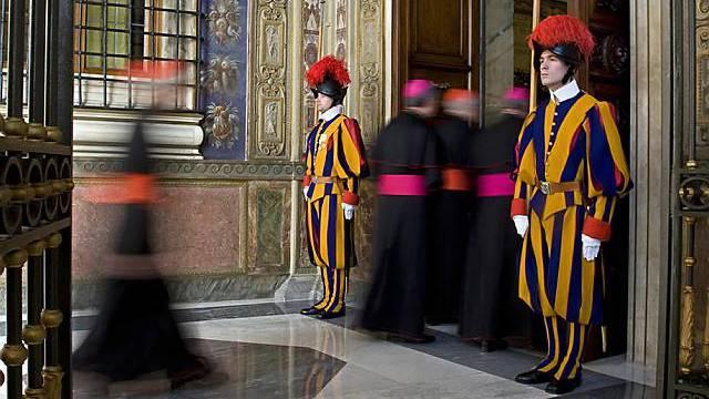 Schweizer Gardisten in Rom