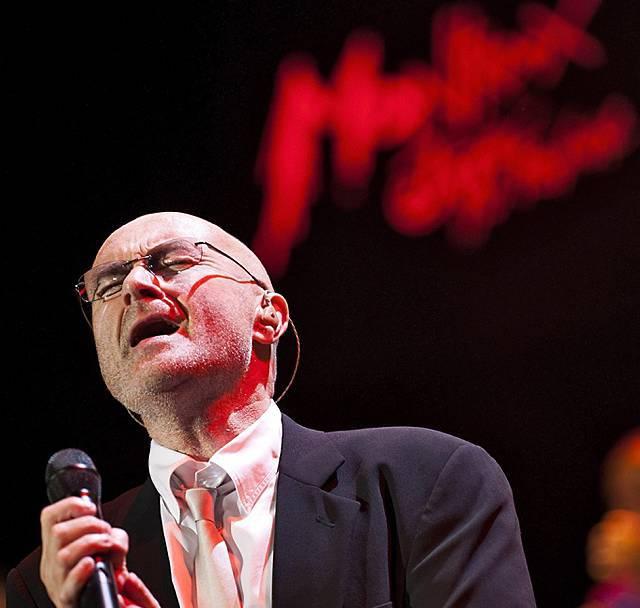 Phil Collins im Interview mit der az