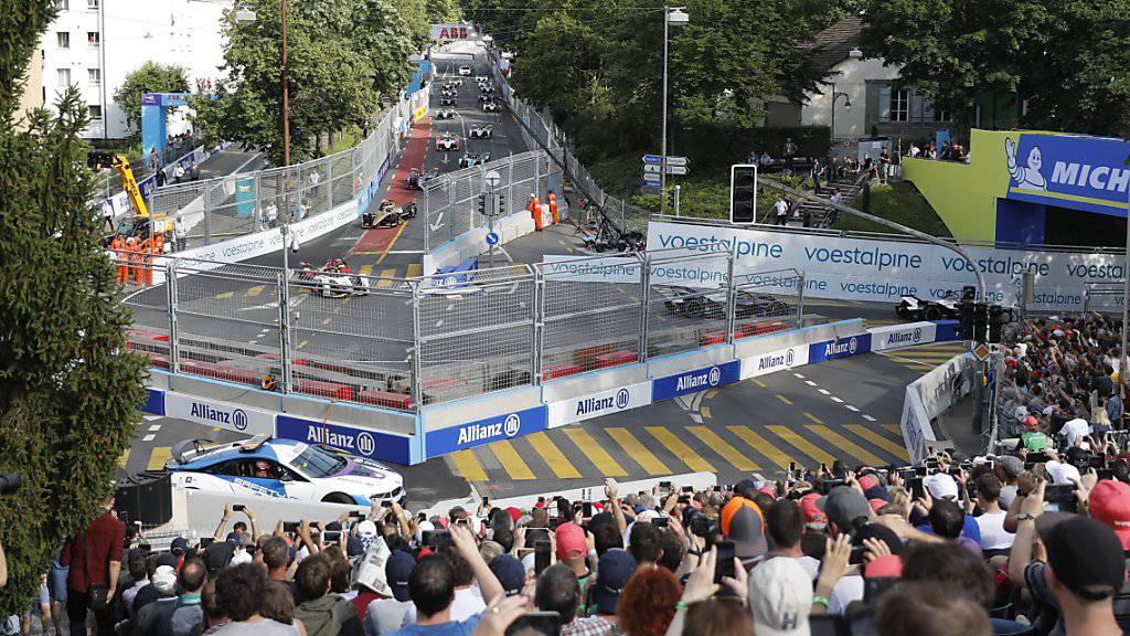 St. Moritz umwirbt Formel E