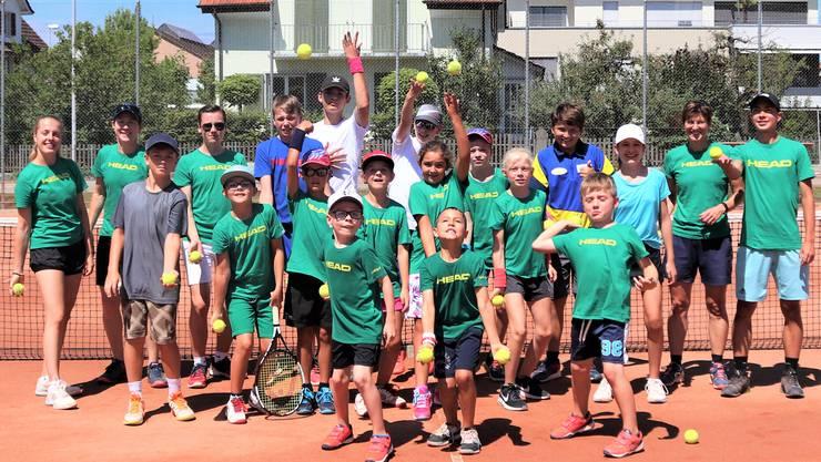 Alle Teilnehmer der diesjährigen Tenniswoche