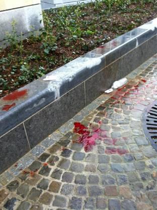 Blut auf der Strasse