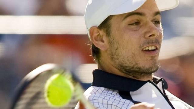 Stanislas Wawrinka gewann gegen Andreas Seppi 7:5, 7:5