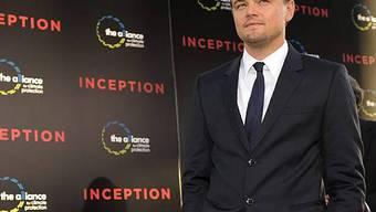 Leonardo DiCaprio bei bei Inception-Premiere