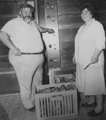 Toni und Marianne Frei gründeten ihre erste Bäckerei 1967 in Ehrendingen.