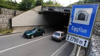 Der Eggfluetunnel ist einer von nur zwei Tunneln mit Gegenverkehr im Baselbiet.