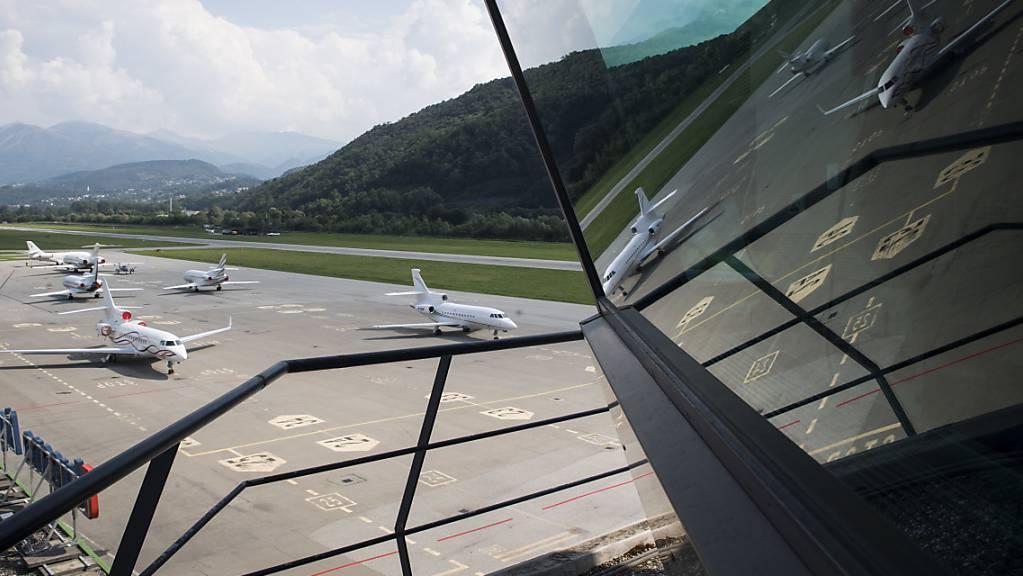 Seit dem Grounding der Airline Darwin steckt der Flughafen Lugano-Agno in grossen Schwierigkeiten.