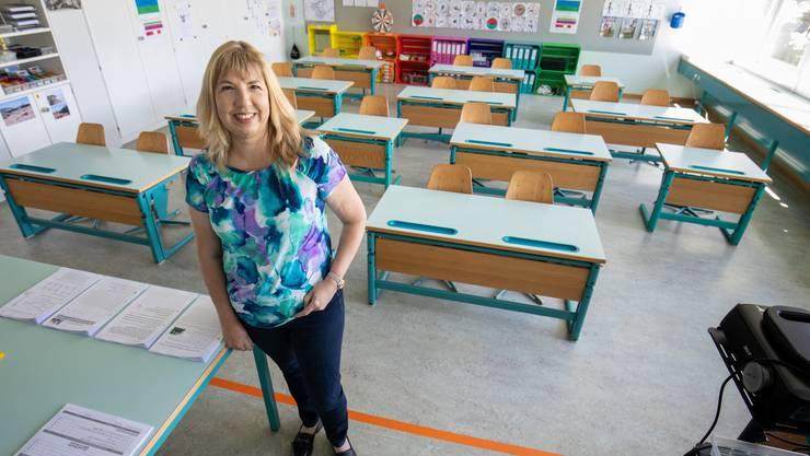 Doris Bärtschiger ist die Schulleiterin der Primarschule Neuendorf.