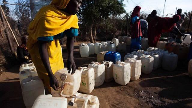 Der Konflikt in Darfur hat Hunderttausende zu Flüchtlingen gemacht