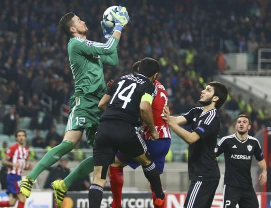 Kleine Mannschaften wie Karabach (in schwarz) wird man in der diesjährigen Champions-League-Saison nicht vermissen.
