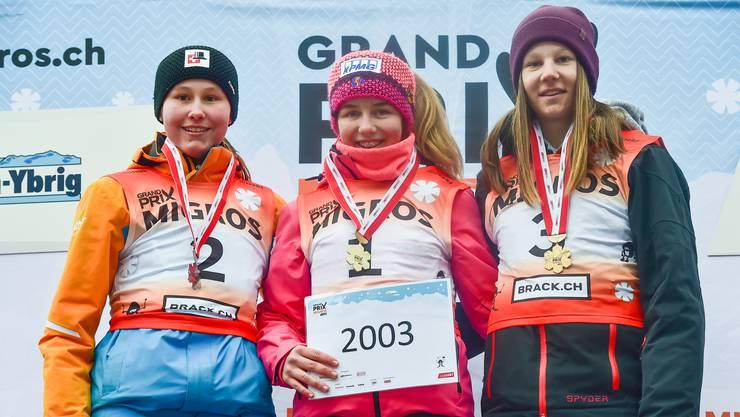 Nina Müller (rechts) qualifizierte sich als Dritte fürs Grand Prix-Finale.