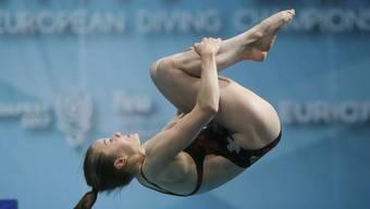 Michelle Heimberg gewinnt an der EM in Kiew Bronze im Synchron-Mixed
