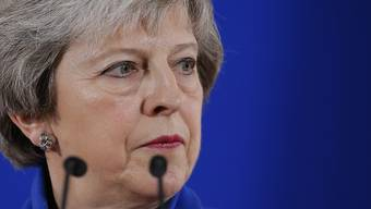 Schwierige Zeiten: die britische Premierministerin Theresa May. (Archivbild)