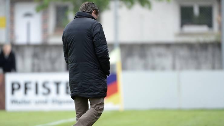 Solothurns Trainer Roland Hasler