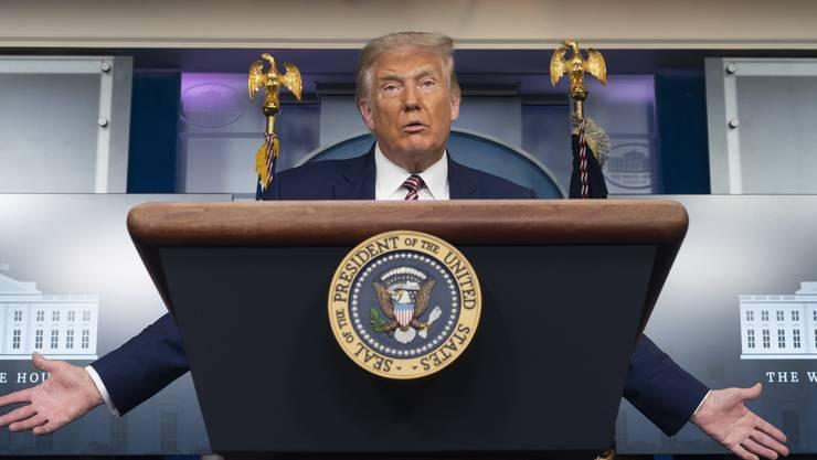 Dem Präsident könnte die Krankheit schaden, auch im Wahlkampf. (Symbolbild)