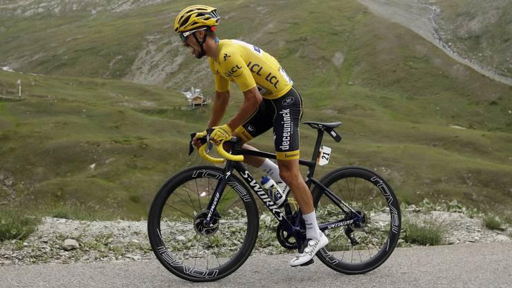 Die Statistik prophezeit den Teilnehmern der Tour de France (hier Julian Alaphilippe) ein langes Leben.