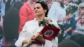 Brät sonst gerne Frikadellen:  Die 37-jährige Hausfrau Swetlana Tichanowskaja ist ein Phänomen.