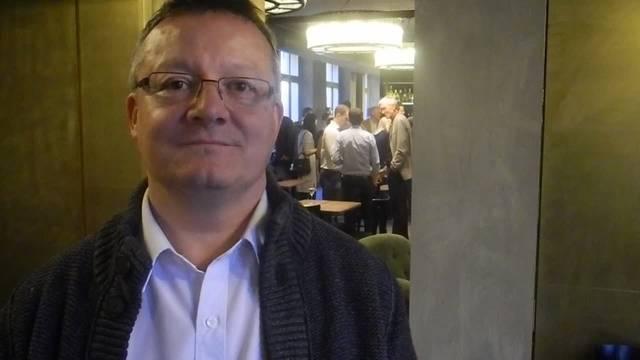 Mario Delvecchio, Stadtratskandidat FDP, holt bei den Stadtrat-Ersatzwahlen den zweiten Platz