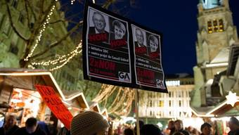 Proteste gegen das Abstimmungsresultat in Lausanne