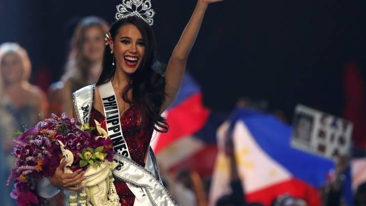 Sie ist neu die schönste Frau im Universum: die 24-jährige Catriona Gray von den Philippinen.