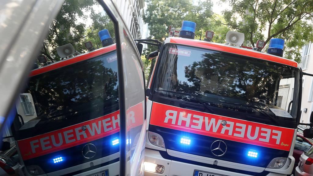 Feuerwehrmänner werden bei Einsatz tödlich verletzt