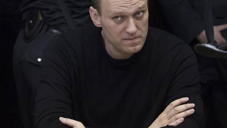 Nach Verbüssung seiner Haftstrafe ist der Kreml-Kritiker Alexej Nawalny freigelassen worden.  (Archiv)