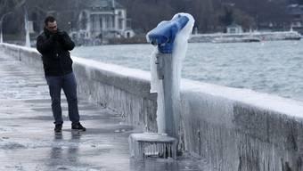 So schön kann Kälte sein – Bildergalerie zu den eisigen Temperaturen in der Schweiz