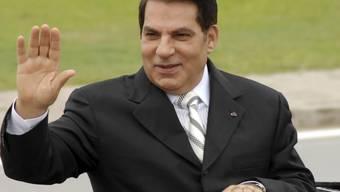 Der  frühere langjährige tunesische Präsident Ben Ali ist im saudischen Exil gestorben. (Bild von 2009)