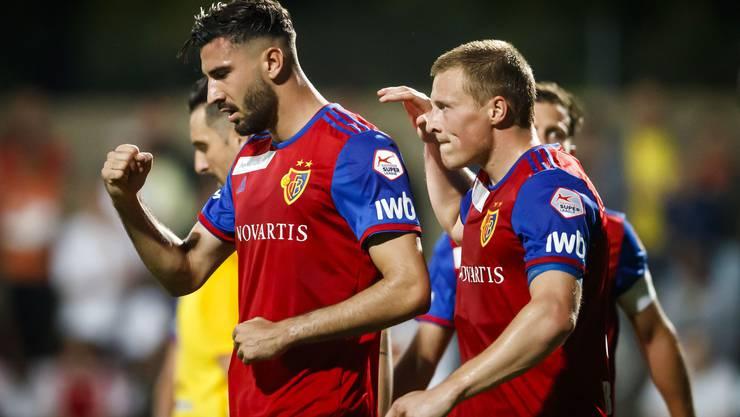 Kemal Ademi (links) kann am Sonntag in Bern wieder spielen.
