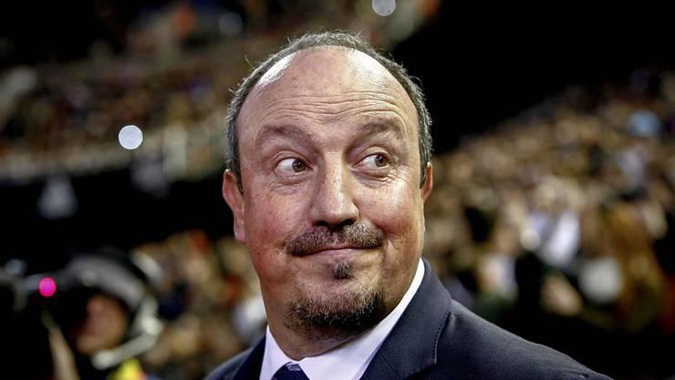 Rafael Benitez, bis Anfang Jahr noch Trainer von Real Madrid, übernimmt in Newcastle