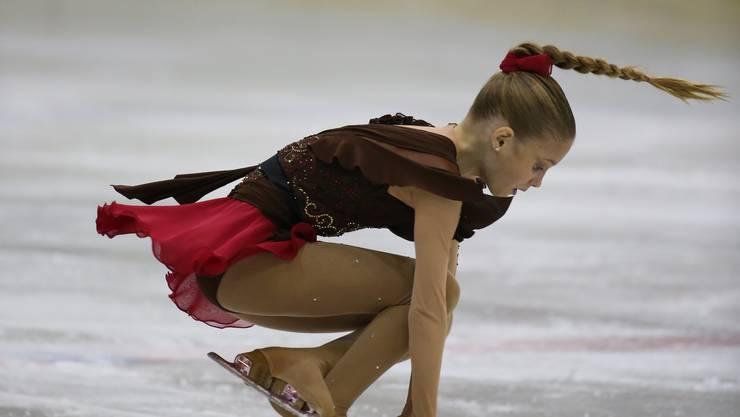 Vereinsmitglied und Schweizermeisterin Kimmy Repond wird am diesjährigen Schaulaufen ihr Können zeigen.