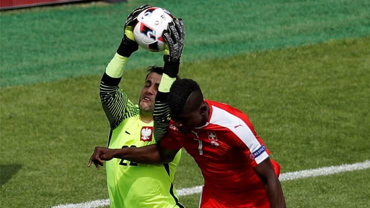 Jung und unerschrocken: Breel Embolo ist der nächste FCB-Erfolgstransfer. key