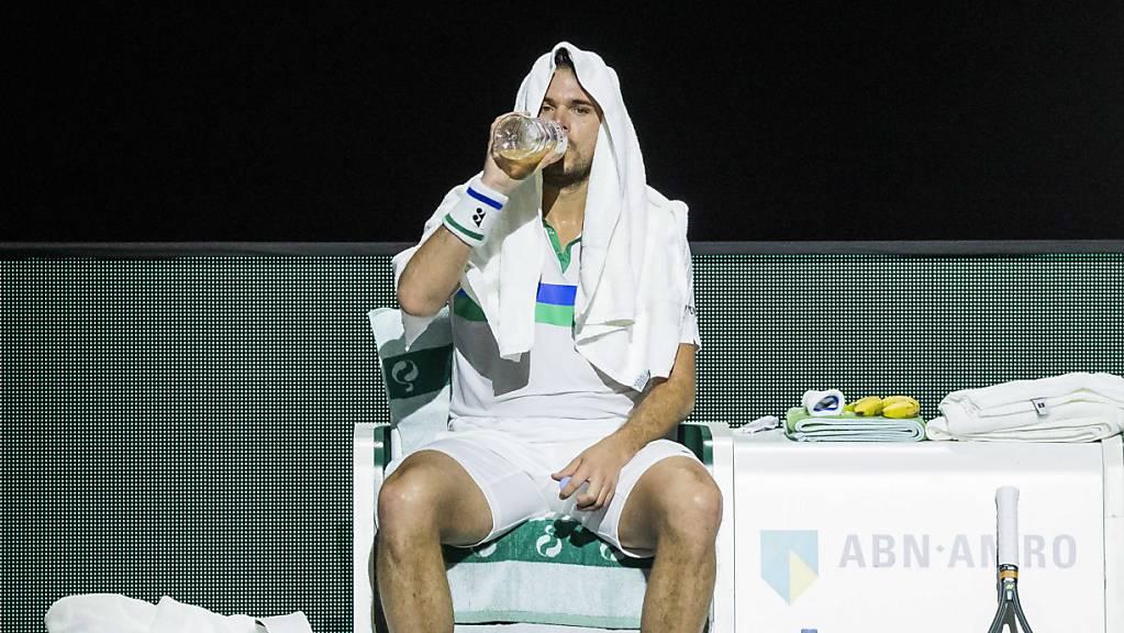 Stan Wawrinka scheitert in Doha überraschend an Lloyd Harris