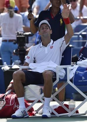 Novak Djokovic verpasste sein fünftes US-Open-Finale nacheinander.