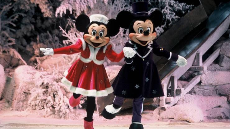 Eurodisney befindet sich auf finanziellem Schlingerkurs: Nun muss der Disney-Konzern Micky und Minnie Maus in Europa finanziell unter die Arme greifen.DISNEY/EPA