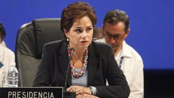 Die ehemalige mexikanische Aussenministerin Patricia Espinosa übernimmt im Juli die Spitze des UNO-Klimasekretariats. (Archiv)