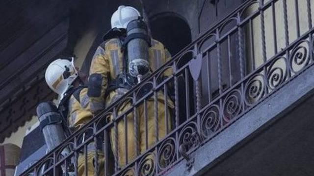 Genfer Feuerwehrleute im Einsatz (Symbolbild)