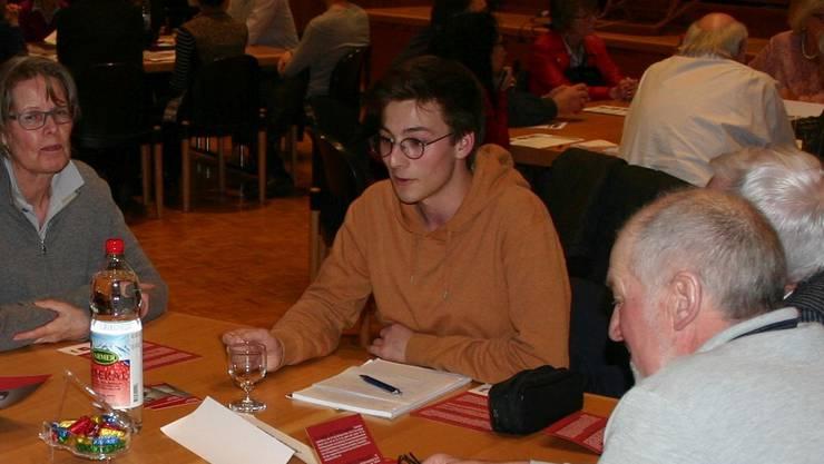 Will Jugendarbeit für Birmensdorf: Samuel Wenk (Juso, neu)