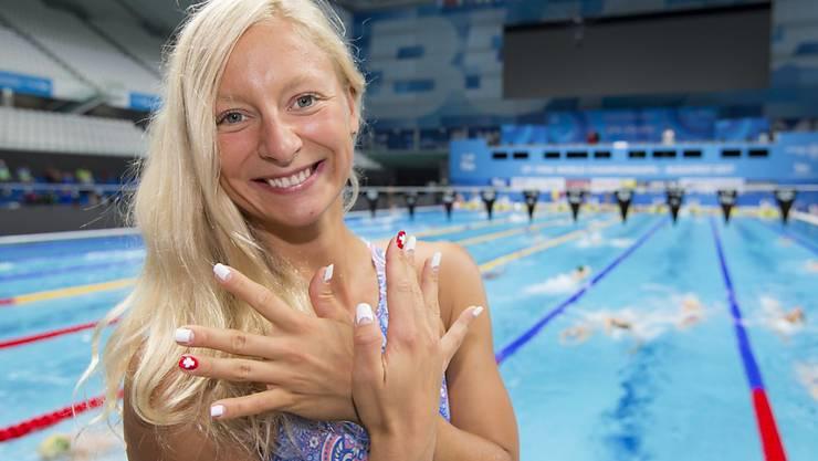 Maria Ugolkova egalisierte im EM-Halbfinal über 200 m Lagen ihren Schweizer Rekord und qualifizierte sich souverän für den Final