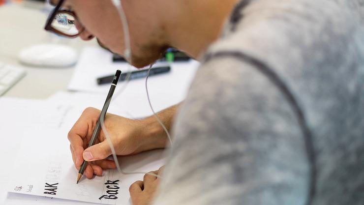 Traumberuf Grafiker: Die ausserkantonale Ausbildung wird vom Kanton Solothurn nicht bezahlt.