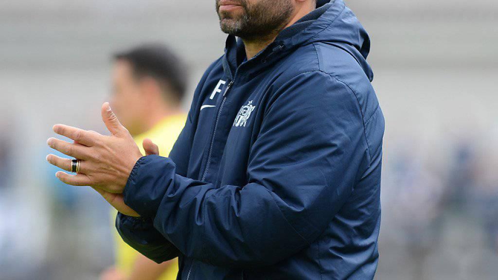 Kurz vor dem Aufstieg in die Super League: FCZ-Trainer Uli Forte