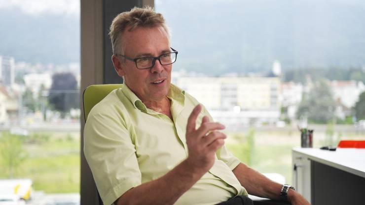 «Die SWG muss sich verschiedenen Entwicklungen stellen», meint Per Just, Geschäftsführer der SWG.