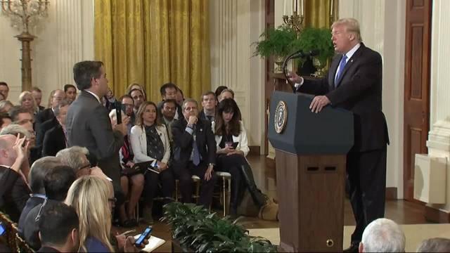 Eklat bei Trump-Medienkonferenz: Wortgefecht mit CNN-Reporter