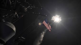 US-Angriff auf syrische Luftwaffenbasis