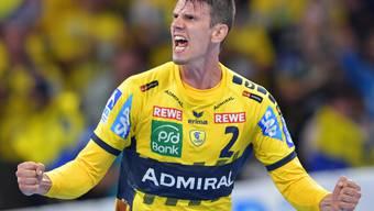 Andy Schmid will wieder über mehr Tore für die Rhein-Neckar Löwen jubeln können