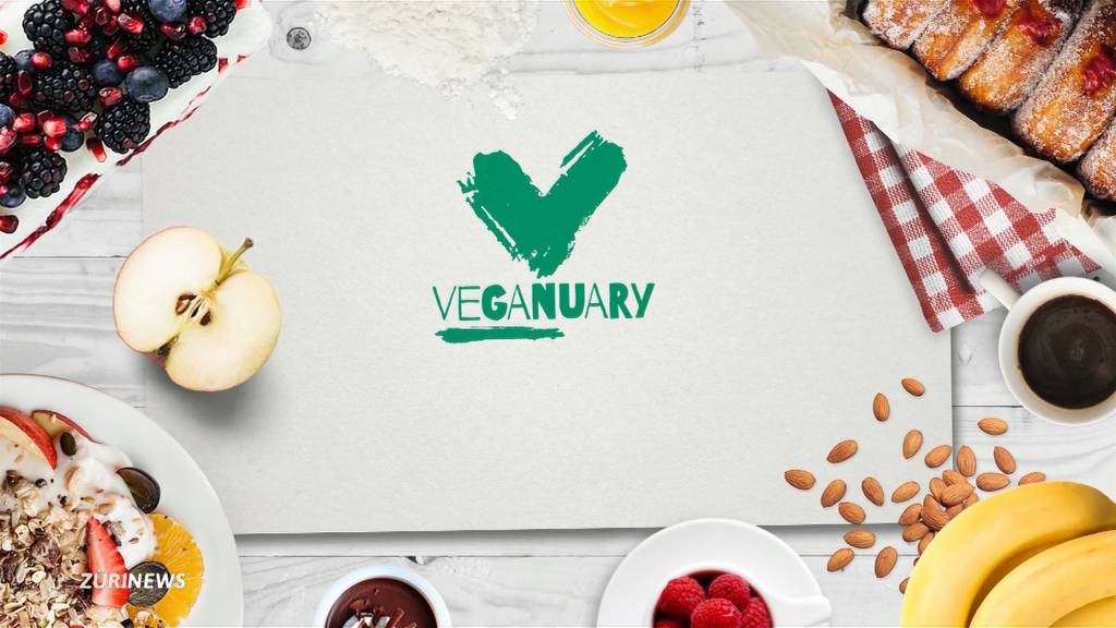 Veganuary: Erster veganer Januar in der Schweiz