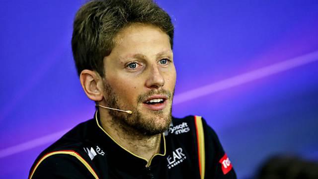 Auch Romain Grosjean sitzt weiterhin im Lotus-Cockpit
