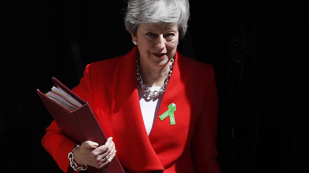 Die britische Premierministerin Theresa May dürfte bei der erneuten Abstimmung über das Brexit-Abkommen auf viel Widerstand stossen.