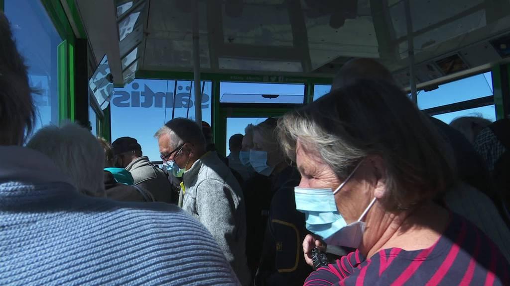 Kurznachrichten: Säntis, Jagdstatistik, Demo Rapperswil-Jona