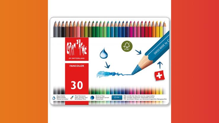 Wunsch-Nr. 23, Kimberly, 10 Jahre, Farbstifte Fancolor 30 Stück, z.B. bei Franz Carl Weber, CHF 49.95